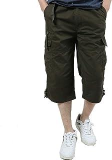 Wten Men's Casual Outdoor Summer Cargo Shorts Work Short Pants with Pocket