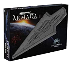 Represent the might of the galactic empire with a new expansion pack for Star Wars: Armada. The Super Star Destroyer miniature measures 24 inches from tip to tip—the largest miniature ever made by Fantasy Flight Games. Introduces a brand-new class of...