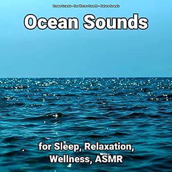 Ocean Sounds for Sleep, Relaxation, Wellness, ASMR