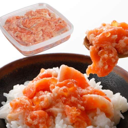サーモン 塩こうじ漬け 境港産サーモン 銀鮭 鮭とろ 300g [さけ しゃけ 刺身 たたき トロ 業務用 冷凍 ニッスイ 日本水産]食べ物 グルメ ギフト プレゼント 食品 おつまみ 食べ物