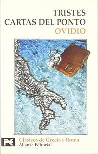 Tristes. Cartas del Ponto par  Ovidio