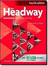 New Headway: Elementary Fourth Edition: Workbook + iChecker with Key by John Soars (2-Feb-2012) Paperback