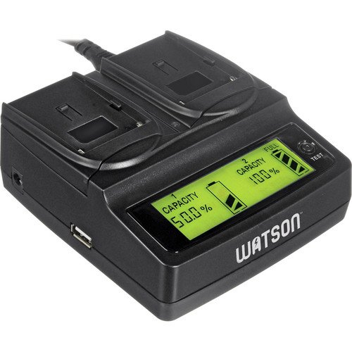 Price comparison product image Watson Duo LCD Charger with 2 BLN-1 Battery Plates