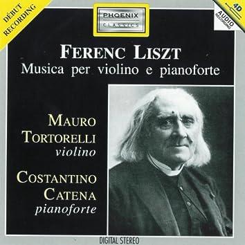 Ferenc Liszt : Musica per violino e pianoforte