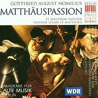 Homilius: Matth盲uspassion (St. Matthew Passion) (2005-10-01)