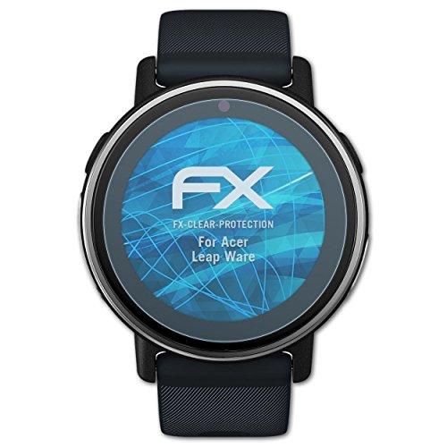 atFoliX Schutzfolie kompatibel mit Acer Leap Ware Folie, ultraklare FX Bildschirmschutzfolie (3X)