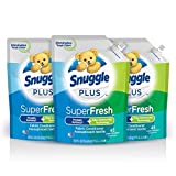 Snuggle Plus Super Fresh features the Snuggly softness you love, plus odor eliminating technology. It doesn't just mask tough odor, It helps eliminate it and releases snuggly freshness. Snuggle Plus Super Fresh is the first-ever odor fighting regimen...