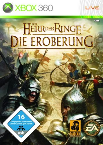 Electronic Arts  The Lord of the Rings: Conquest, Xbox 360