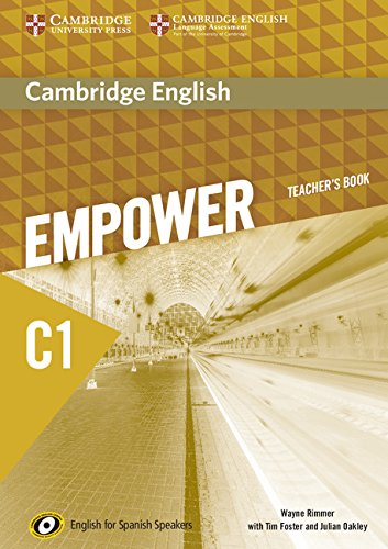 Cambridge English Empower for Spanish Speakers C1