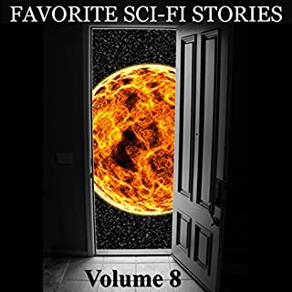 Favorite Science Fiction Stories audiobook cover art