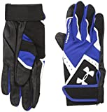 Under Armour Boys' Clean-Up VI Baseball Batting Gloves,Royal (400)/White,Youth Large