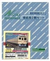 グリーンマックス Nゲージ 1087M 京王6000系 旧塗装 増結中間車3輌セット (塗装済車両キット)