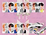 Sieayd Kpop BTS Love Yourself Blanket V Jungkook Flannel Throws 50'X40'Air Conditioner Blankets Gifts for Girls Boys