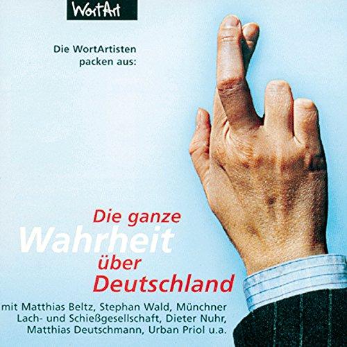 Couverture de Die WortArtisten packen aus - Die ganze Wahrheit über Deutschland