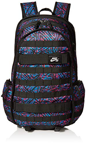 Nike Herren NK SB RPM BKPK-SP20 AOP Sports Backpack, Black/Laser Blue/(White), MISC