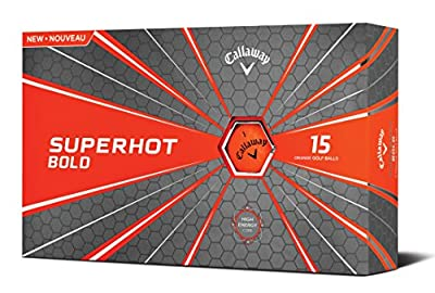 Callaway Superhot '18 Golf Ball (15 Ball Pack, Bold Orange)