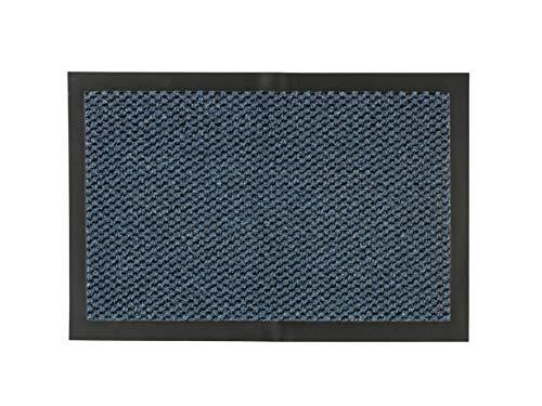 Carpido Schmutzfangmatte Felpudo, Azul, 60 x 80 cm