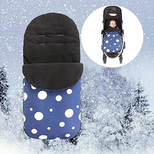 Baby Schlafsack Für Kinderwagen, Dot Vlies Wasserdicht Schlafsack Warme Decke Schlafsack Kinderwagen Für Babys 0-18 Jahren