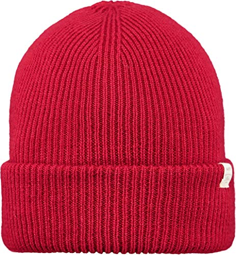 Barts Kinabalu Beanie Rot, Kopfbedeckung, Größe One Size - Farbe Red