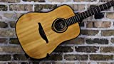 Lag–T80D DREADNOUGHT Guitare acoustique Gris Solid Spruce