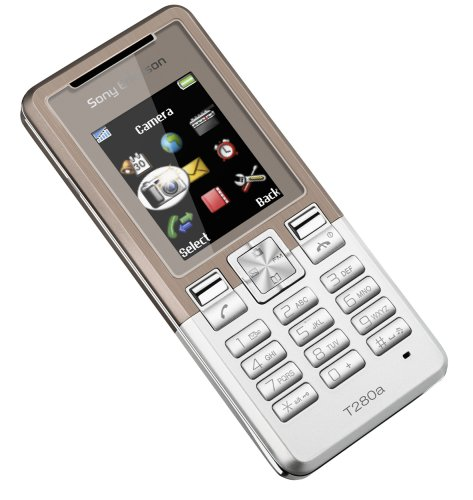 Sony Ericsson T280i Copper on Silver Handy