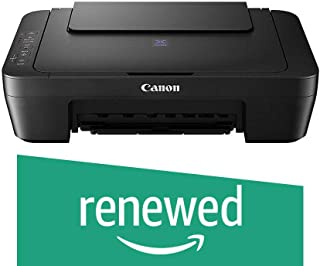 (Renewed) Canon Pixma E410 All in One Inkjet Printer (Black)