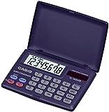 CASIO SL-160VER  - Calculadora básica, 10 x 87 x 58 mm plegado y 8 x 87 x 117.5 mm desplegado, azul marino