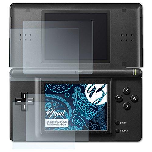 Bruni Protecteur d'écran pour Nintendo DS-Lite Film Protecteur, cristal clair Écran protecteur (Set de 2)