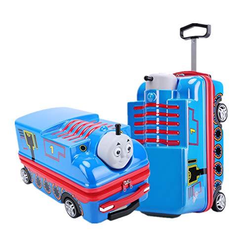 Children's Cartoon Suitcase, Thomas Trolley Case, Children Boarding