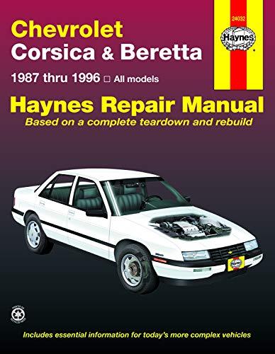Chevrolet Corsica & Beretta (87-96) Haynes Repair Manual
