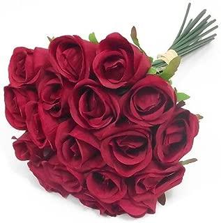 Casa Vivente Rosa Eterna Preservada Plantas Naturales Color Rojo Longitud 55 cm