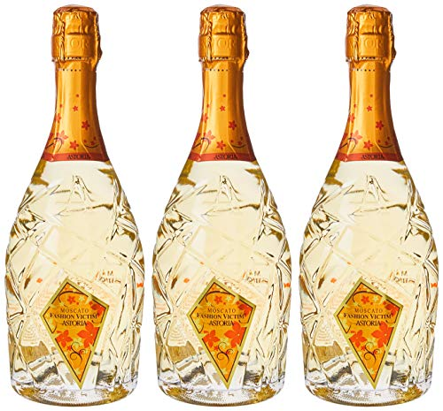 Astoria Moscato'Fashion Victim'Spumante - 3 bottiglie da 750 ml