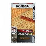 RONSEAL Ultimate Protection Decking Oil Dark Oak 5L