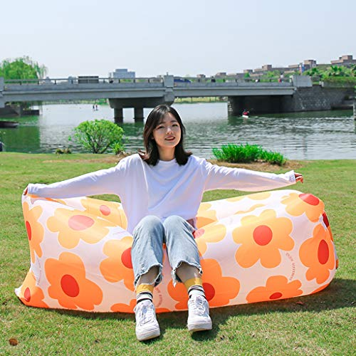 YUDIAN Inflatable Lounger Air Chair Sofa, Hammock, and Bed - Fun & Easy Inflating and Anti-Deflate Technology Best for Traveling, Camping, Picnic, Hiking, Festival, Beach