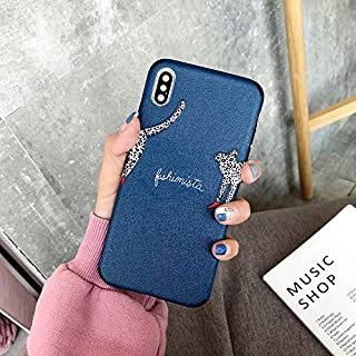 iPhone Matching Couple Lovers Best Friends Cases for iPhone X, iPhone Xs, iPhone X Max, iPhone Xs Max, iPhone 11, iPhone 11 Pro, iPhone 11 Pro Max (Puppy, iPhone X/XS)