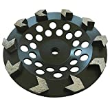Grinding Wheel for Paint, Epoxy, Mastic, Coating Removal (7' Arrow Seg - 5/8'-11 Arbor)