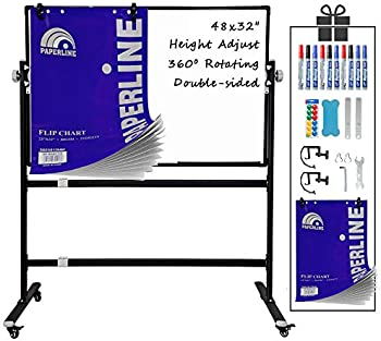 Estery Double-Sided Mobile Whiteboard