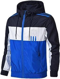 SHENSHI Jackets For Men,Windbreaker Fashion Hip Hop Autumn Vintage Cargo Bomber Jacket