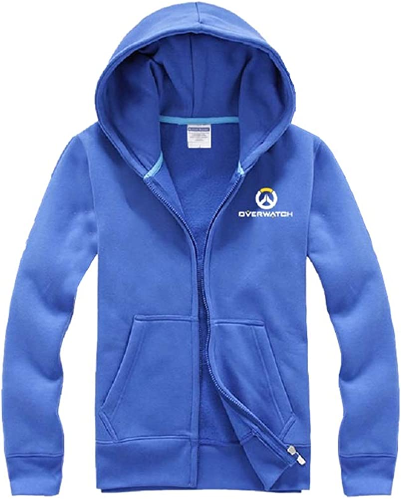 SevenJuly1 Cotton Hoodie Baseball Jackets with Pockets Cosplay Costume Coats
