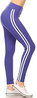High Waist Double Lined Solid Yoga Leggings