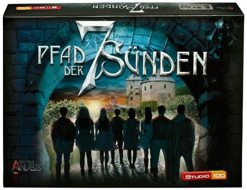 Studio 100 - MEHADE000210 Das Haus Anubis : Brettspiel Pfad der sieben Sünden