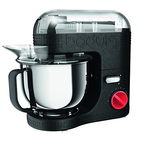 Bodum Bistro 11381/-01/-294/-565/-913 Elektrische Küchenmaschine, 4.7 l, 4.7 liters, Schwarz