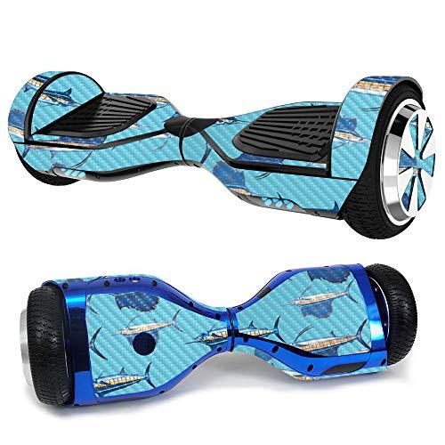 MightySkins Carbon Fiber Skin for Ultra Hoverboard...