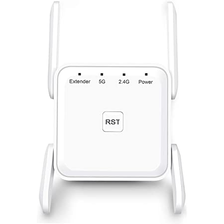 Amazon Com Wifi Range Extender 1200mbps Wifi Booster Repeater 2 4 5ghz Dual Band Wps Wireless Signal Strong Penetrability Wide Range Of Signals 2000ft Enjoy Gaming Movies Computers Accessories