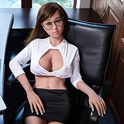 YOUOU Amy Sex Doll for Men 158CM 5'18ft Lifelike Soft TPE Sex Toys with 3 Holes Full Size Real Love Sex Doll with Discreet Shipping (Tan - F Cup)