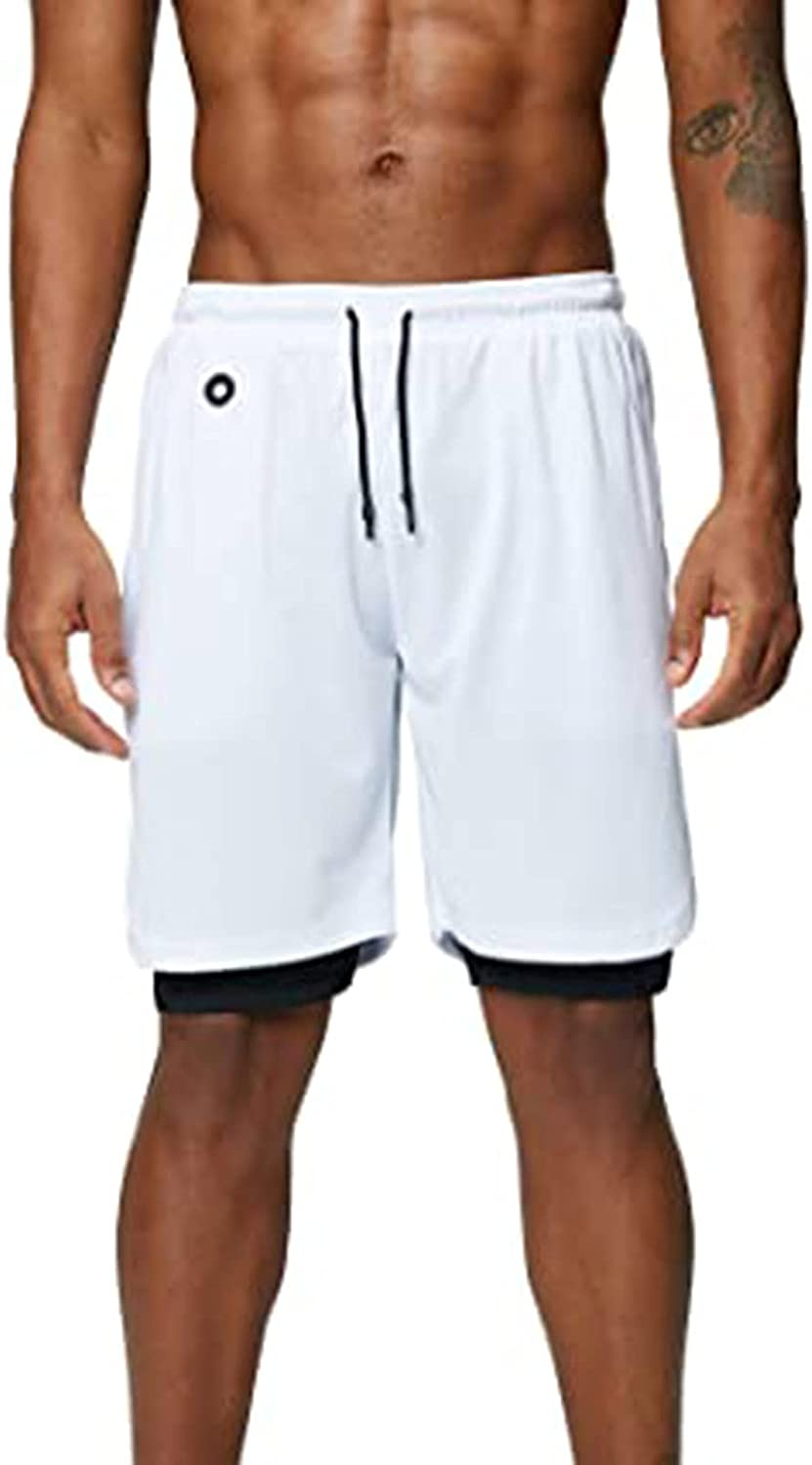 XCeihe Mens Summer Relaxed Fit Casual Home Shorts Elastic Waist Bandage Comfy Sport Pant with Pockets
