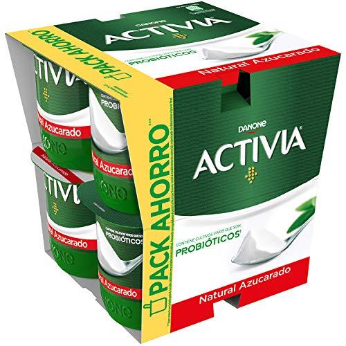 Activia Natural Azucarado 8x120 g