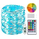 BINZET 33Ft Fairy Lights - With 100 Leds 16 [Multi] Colors...
