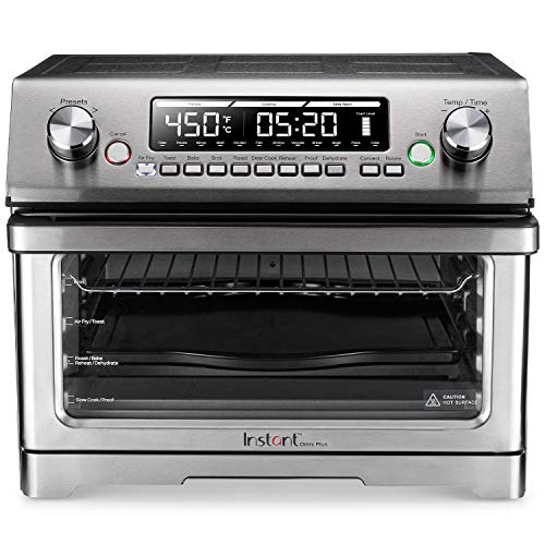 Instant Omni Plus Air Fryer Toaster Oven 11 in 1, 26L, Rotisserie, Reheat Pizza, XL