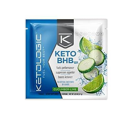 KetoLogic BHB – Keto Supplement - Helps Achieve Ketosis/Boosts Ketones/Fuels Performance